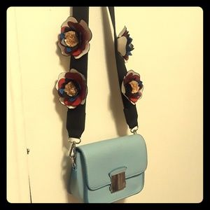 Small Blue crossover bag
